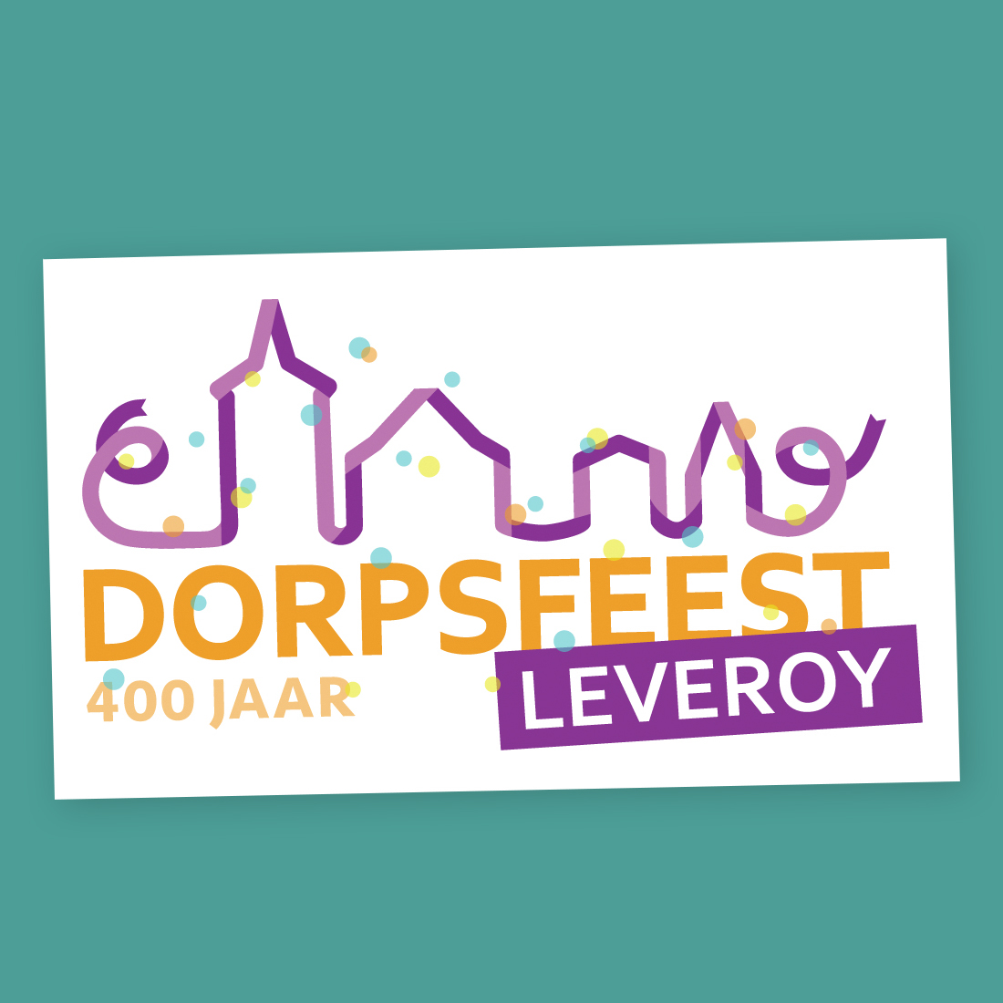 Logo Dorpsfeest Leveroy