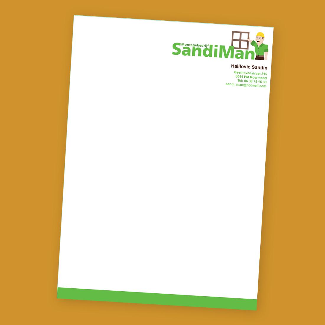 Briefpapier SandiMan
