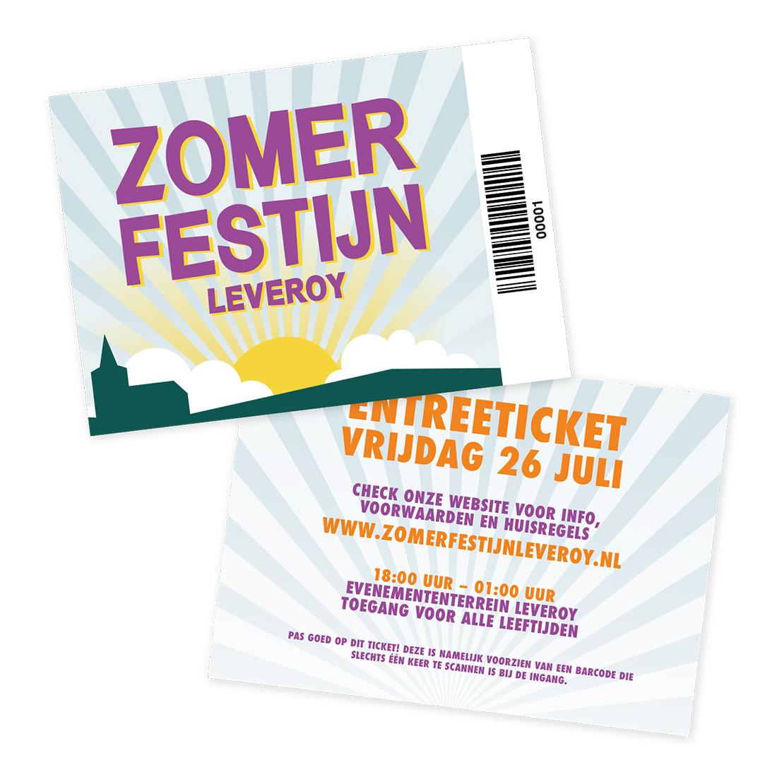 Tickets Zomerfestijn Leveroy