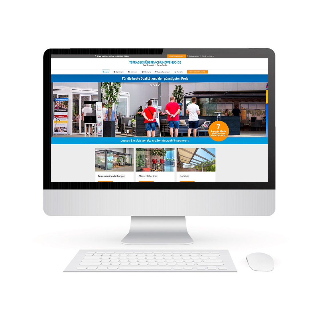 Website TerrassenüberdachungVenlo